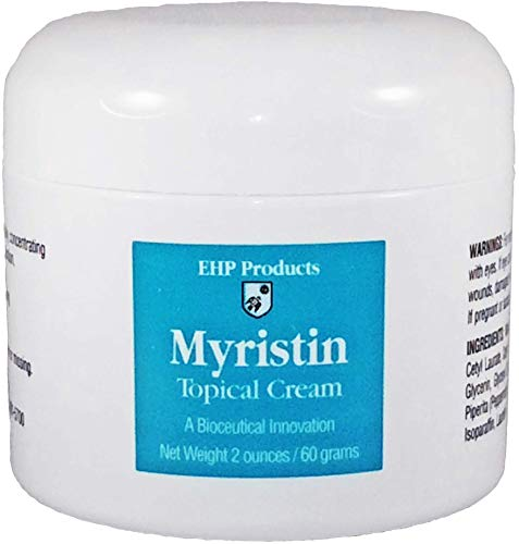 EHP Products Myristin® Cetyl Myristoleate CMO Topical Cream (2 oz.) for Easy Application to Joints and Muscles
