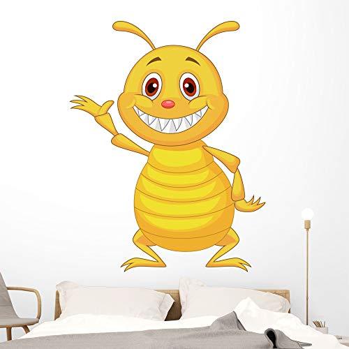 Wallmonkeys Termite Cartoon Wall Decal Peel and Stick Animal Graphics (60 in H x 47 in W) WM497234