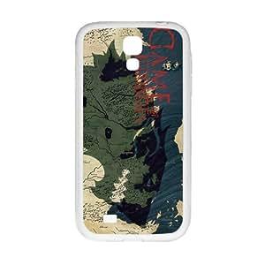 Game Map Unique Design White Samsung Galaxy S4 case
