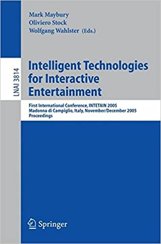Intelligent Technologies for Interactive Entertainment: