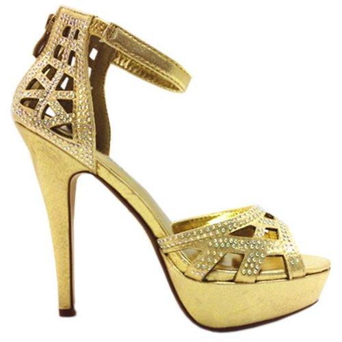 Blancho Women Ivetta Glittering Heels Sandals UCTWvNNKo