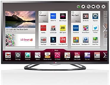 LG 42LA641 V 107 cm (42 Pulgadas) Cinema 3D led Smart TV Televisor Full HD W de LAN: Amazon.es: Electrónica