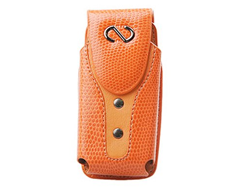Naztech Boa Case - Small/Medium Bar Phones - Blackberry, Palm, Samsung, LG, Motorola, and Nokia - Sunburst Orange