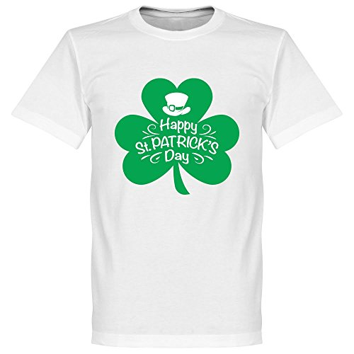 St Patricks Day T-shirt - weiß