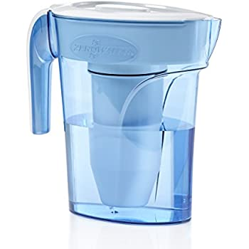 ZeroWater 6 Cup Pitcher with Free TDS Light-Up Indicator (Total Dissolved Solids) - ZP-006