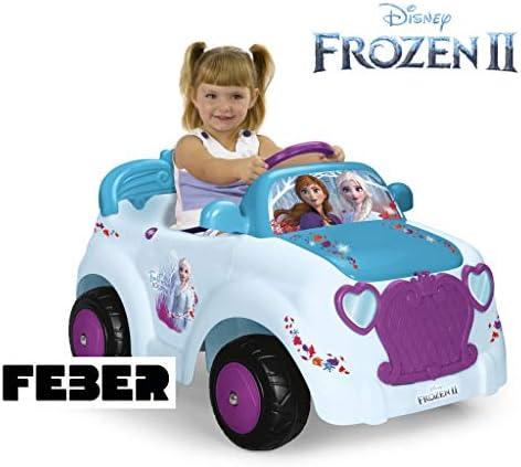 Feber - Frozen 2 Veicolo Elettrico, 6 V, Multicolore, 800012191