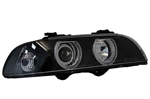 KITT PXN1-200C Angel Eyes Fari Fanali Berlina Touring 96-03 Nero Grigio Lights