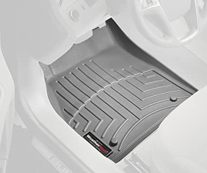 WeatherTech Front FloorLiner for Select BMW 535i xDrive//550i xDrive Models Black