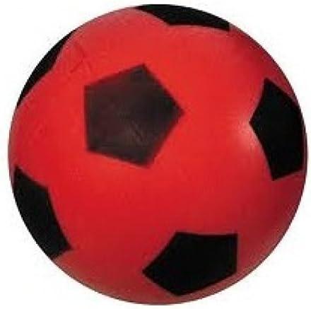 Bola de espuma / Bola blanda / Fútbol Aprox. 20 cm Balón en rojo ...