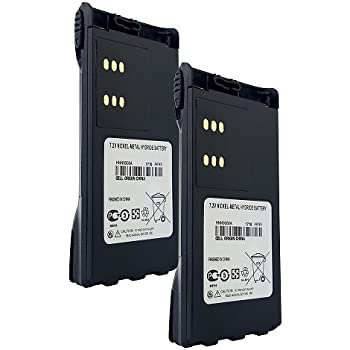 HNN9009 HNN9008 Ni-MH 1300mAh Battery fits Motorola HT1550 HT1250 HT750 GP328