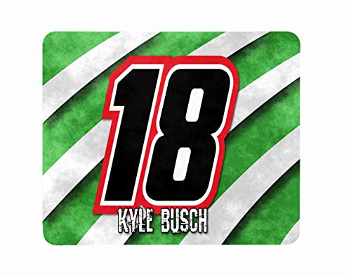 Computer Laptop Mousepad Mat Mouse Pad Car Race Racing Busch Christmas Birthday Halloween Kids Kyle Gift -