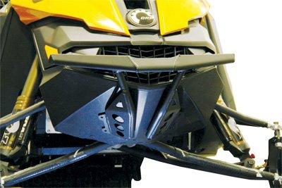 (Skinz Protective Gear Front Aluminum Bumper - Powder Coated Black SDFB400-BR-FBK)