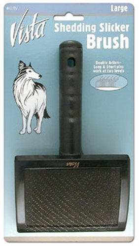 Millers Forge Dog Grooming - Millers Forge Vista Shedding Pet Slicker Brush, Large