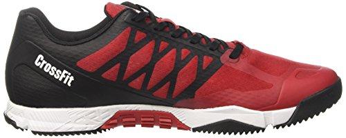 Excellent Rojo Black de Gimnasia Pewter Speed Hombre R para White Reebok Crossfit Red Zapatillas TR YpzqvWYF7n