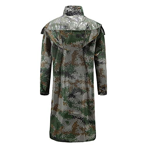 Mimetico Giungla Xjlg Lungo A Xxxxl185 Digitale giacca Impermeabile colore Da Outdoor Dimensioni Tuta Adulto Allenamento Salvagente Ciclismo A zvrnSv41Wx