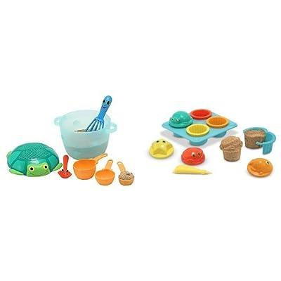 Melissa & DougSand Baking & Cupcake Sets Bundle: Toys & Games