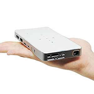 iCodis G1 Pico Proyector Portátil, Tecnología DLP Mini Cine En Casa, Conectividad HDMI & Wi-Fi, Tamaño Portátil Ofreciendo Una Pantalla de 120 Pulgadas con 30.000 Horas LED de uso