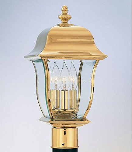 Designers Fountain 1556-PVD-PB Lantern by Designers Fountain