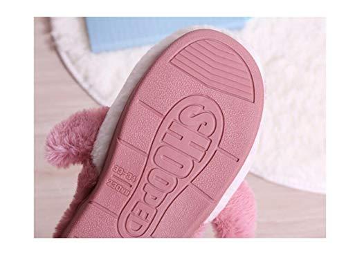 Animali Pink Con Cotone Di Antiscivolo Fondo Purple Pantofole In Peluche Testa Squalo d6qZxgv