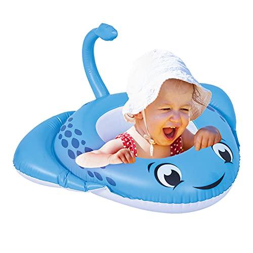 아 팽창식 수영장 FLOAT 26.5X30 유아 수영 반지와 수레 안전 시트 아기 수영 튜브 팽창식 아기 수영장 FLOAT 링 최신 수영 훈련을 위해 아기의 5-12 달