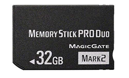Original 32GB High Speed Memory Stick Pro Duo(Mark2) PSP Accessories/Camera Memory Card