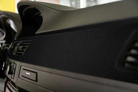 1.49ft x 52 Inch VViViD Black Felt Matte Suede Vinyl Wrap Sheet Rolls