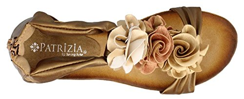 Patrizia Womens Harlequin Gold Multi