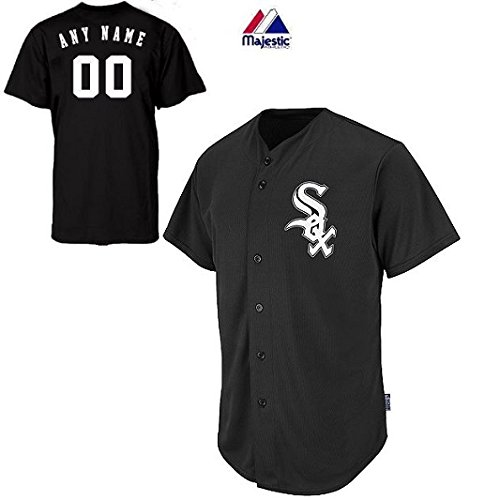 Adult Small Chicago White Sox CUSTOMIZED Major League Baseball Cool-Base Replica MLB Jersey