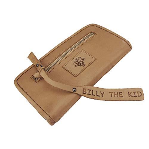 Portefeuille en cuir Fallon Baby Greenburry Billy The Kid Nasty Cowboys Sand