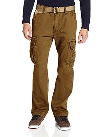UNIONBAY Men's Survivor IV Relaxed Fit Cargo Pant, Golden Brown, 29x30