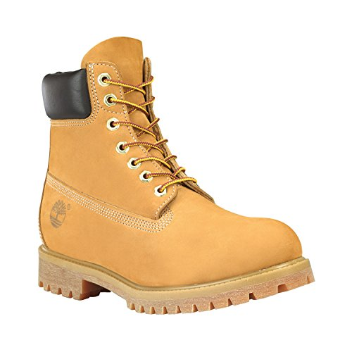 Timberland 6-Inch Premium Hommes Boot étanche High Top Boot in Tan Brown Wheat
