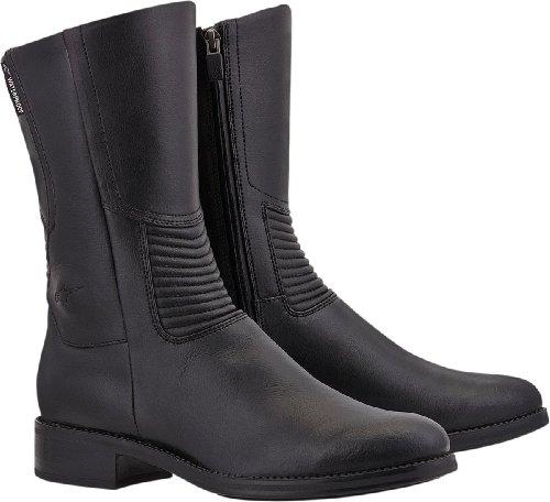 Alpinestars Vika Waterproof Womens Boots , Primary Color: Black, Size: 6, Distinct Name: Black, Gender: Womens 2445513-10-37