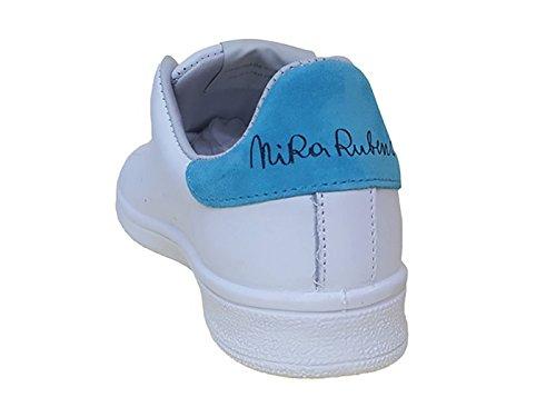 Mujer Zapatillas Para Rubens Nira Blanco Piel De wHAB5FXq