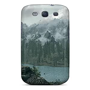 High-quality Durability Cases For Galaxy S3(skyrim Mountain View)