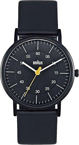 Braun Women's BN0011BKBKL Classic Analog Display Quartz Black Watch