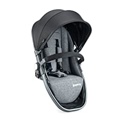 Make It a Double. No need to buy a new stroller, just add a Second Seat when you add a new baby to the family. Supports up to 55 lbs. and includes UPF 50 expandable canopy. Requires additional Front Adapter (sold separately)