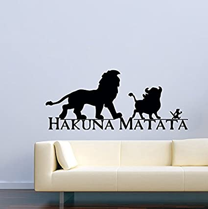 Amazoncom Disney Wall Decal For Boys Girls The Lion King