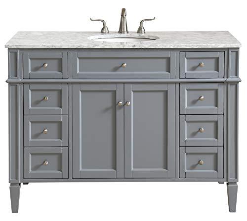 48 in. Single Bathroom Vanity Set in -