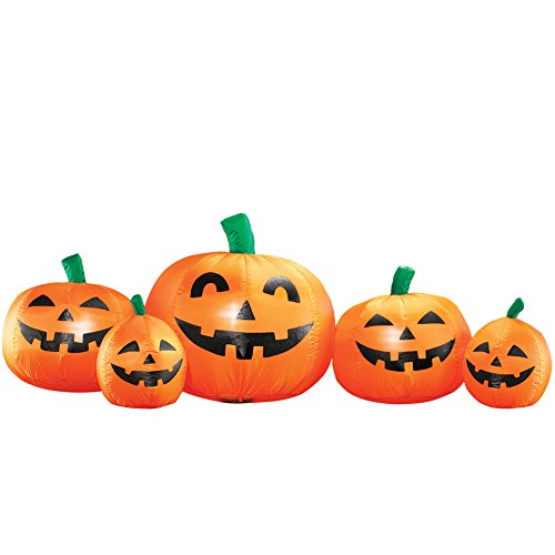 Collections Etc Inflatable Halloween Pumpkin -
