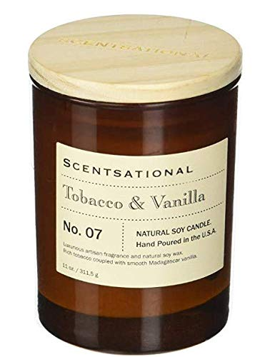 Scentsational Apothecary - Tobacco & Vanilla Candle ()