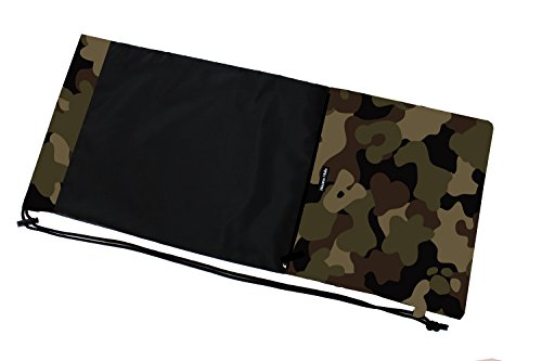 HALKARIN'S Co.,Ltd. Full Size Tennis Racquet Cover, Soft Type, Size: W 13.65 x H 31.2 inch, Camouflage