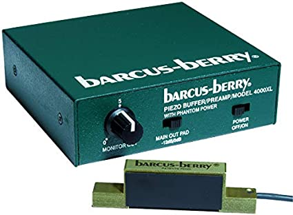 Barcus-Berry 4000PI Piezo Crystal Planar Wave Piano//Harp Sensor Pickup Only