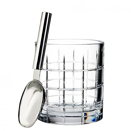 - Waterford Cluin Ice Bucket 48 Oz With Scoop