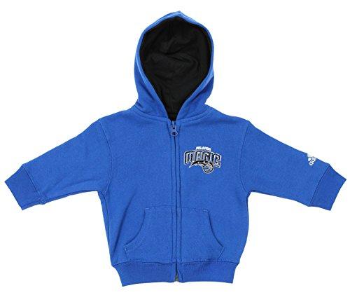 adidas NBA Infant's Orlando Magic Prime Full Zip Hoodie, Blue 24 M
