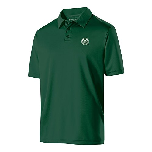 NCAA Colorado State Rams Men's Shift Polo, Medium, (Rams Performance Team Polo)