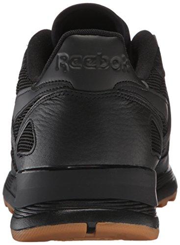 Reebok Mænds Cl Læder 2,0 Mode Sneaker Sort / Hvid Gum