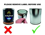 JellyFish Flame Real, 12 Cans (13 oz) Fireplace Gel