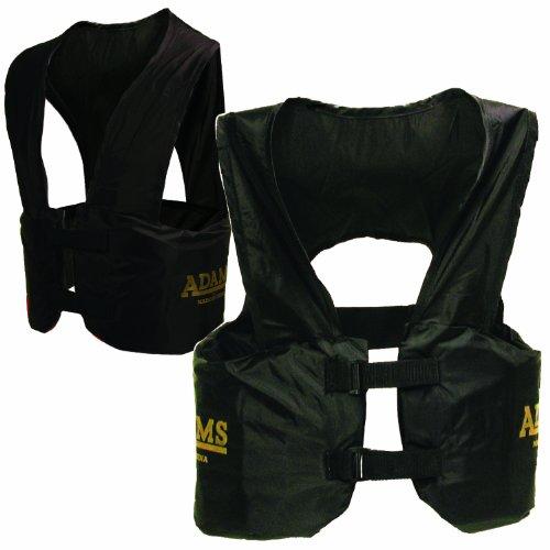Adult Football Flac Jacket (Adams Adult Blocking Rib Vest)