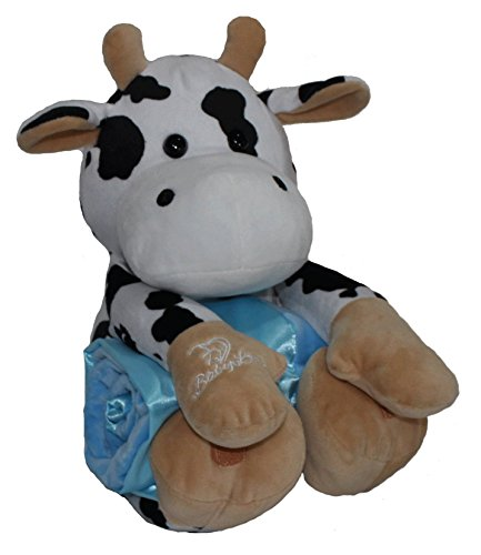 "Baby Love | Cam the Cow 12"" Plush Stuffed Animal with Super"