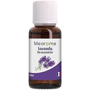 Olio Essenziale di Lavanda • 100% Puro Naturale Vegano • Olio Essenziale per Aromaterapia per Massaggi per Diffusori • Certificato OEBBD OECT e Agricoltura Biologica • 30 Ml Mearome 5 spesavip